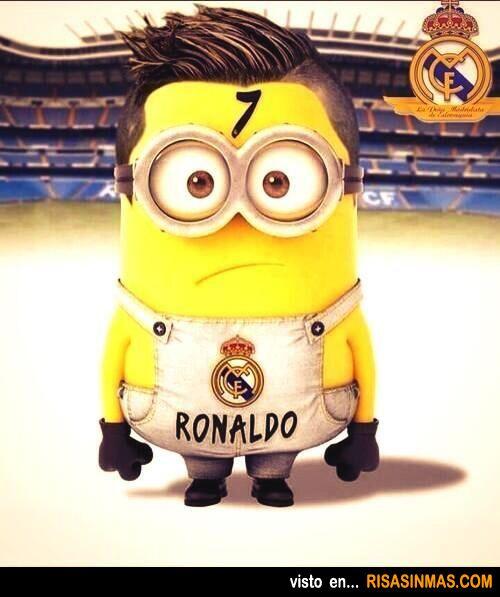 Minion de Cristiano Ronaldo.