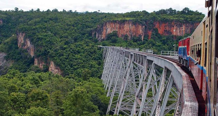 train Mandalay to Hsipaw - Myanmar- looks deadly, but I'm in.