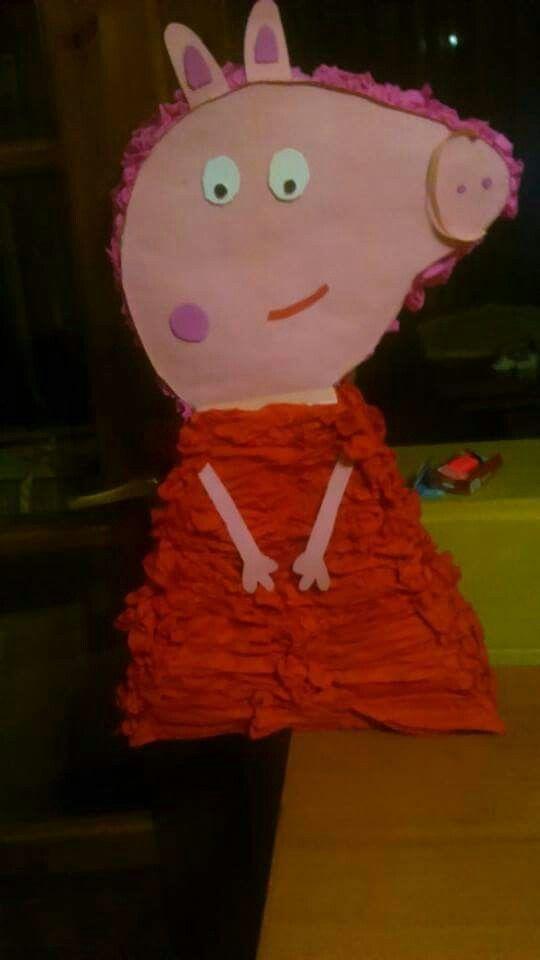 πινιάτα piñata piniata peppa pig πεππα το γουρουνάκι γενέθλια birthday party