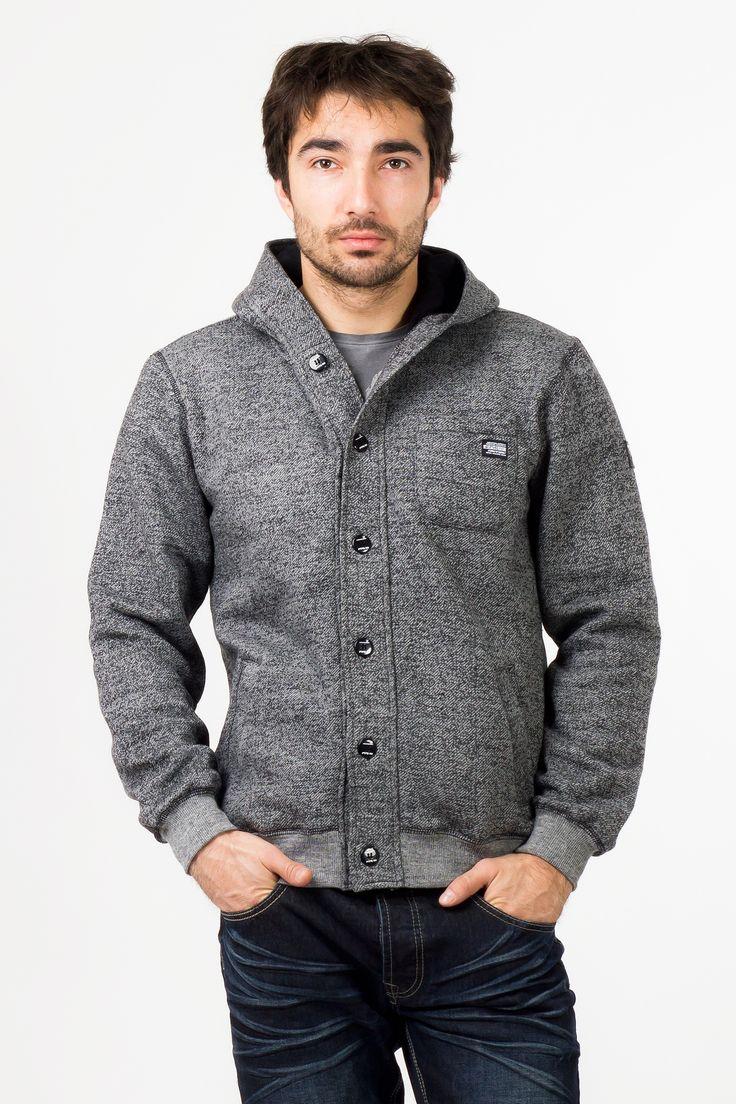 Awesome Hood sweater model 36473 Funk n soul Check more at http://www.brandsforless.gr/shop/men/hood-sweater-model-36473-funk-n-soul/