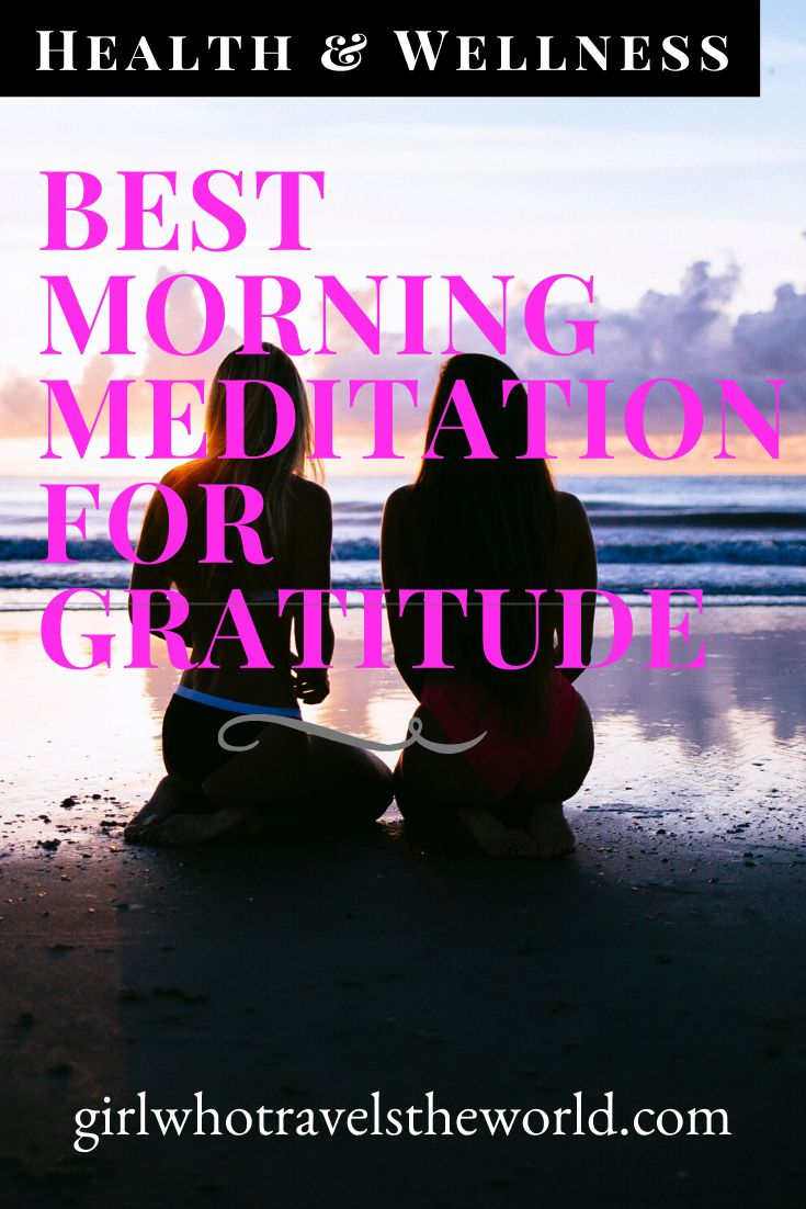 Guided Morning Meditation - Intentions For The Day