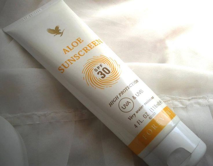 This water-resistant SPF 30 sunscreen contains soothing aloe vera which helps to protect your skin from the effects of the sun's UVA and UVB rays. The silky, smooth and easy-to-absorb formula can also double up as an after sun lotion.  https://www.foreverliving.com/retail/shop/shopping.do?itemCode=199&task=viewProductDetail