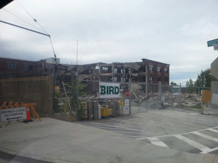 """This might be a sad photo for Royal Canadian Navy members from the past. The old buildings at Canadian Forces Base Stadacona are coming down. The following is from Wikipedia - Stadacona, referred to as HMCS Stadacona before 1968 and frequently referred to as """"Stad"""", is an adjunct to HMC Dockyard located west of the waterfront in the North End of the Halifax peninsula. Prior to the arrival of the French, the location that would become Quebec was the home of a small Iroquois village."""