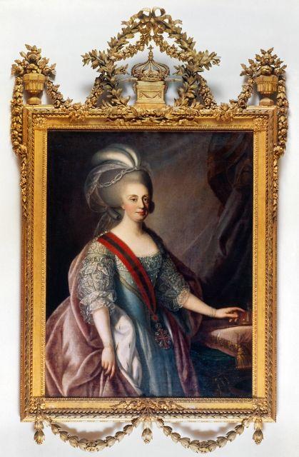 International Portrait Gallery: Retrato de la Reina Maria I de Portugal