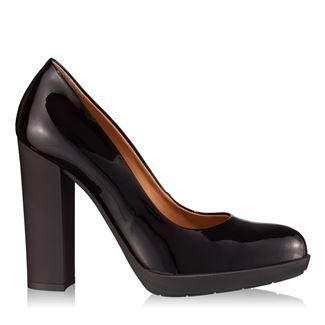 Pantofi dama negri 4107 piele lacuita