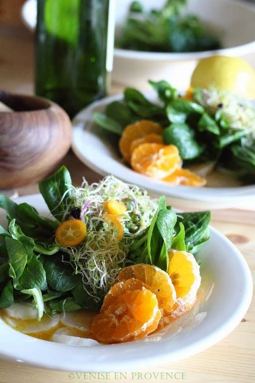 Citrus Scallop Summer Salad Recipe — Dishmaps