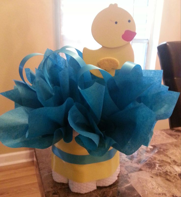 Diaper Duck Baby Shower Cakes | NEW mini diaper cakes owl duck dinosaur frog and airplane styles very ...