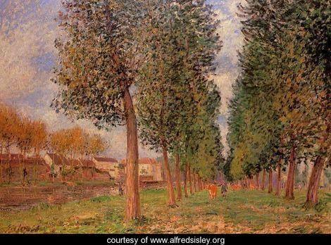 Otoño-Alfred Sisley
