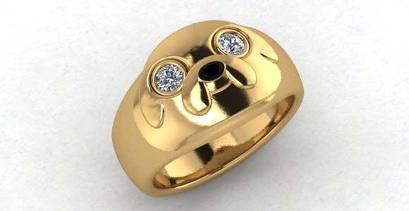 Adventure Time Jake engagement ring