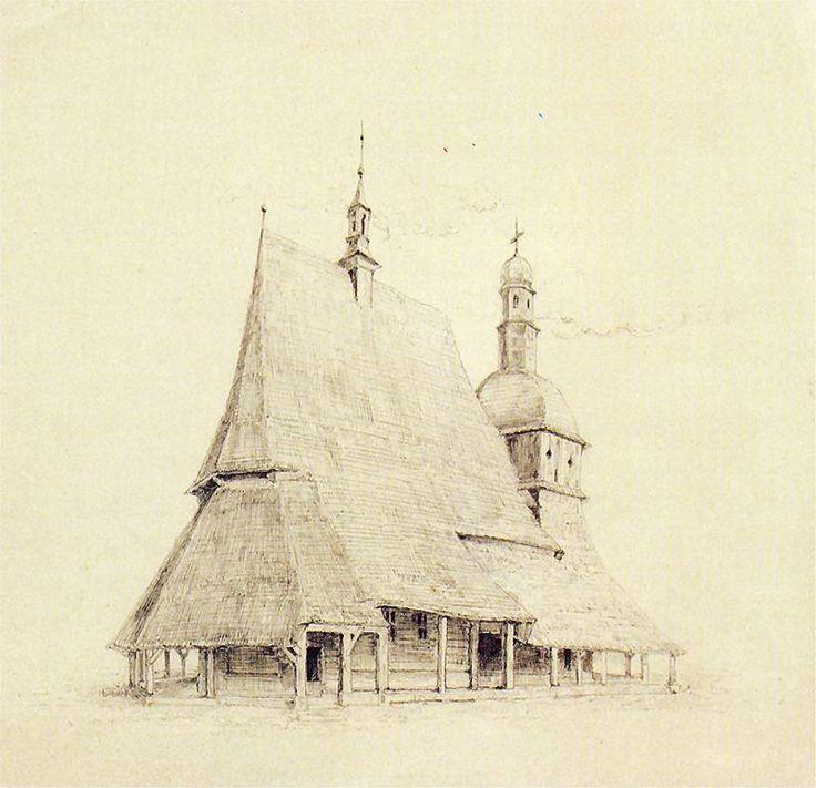 Stanisław Wyspiański | Kościół w Sękowej