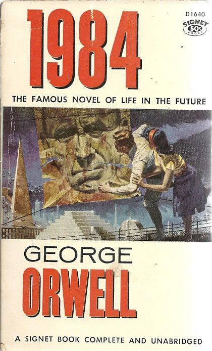 Author: George Orwell Publisher: Signet D1640 Year: 1959 Print: 17 Cover Price: $0.50 Condition: Very Good Genre: Fiction