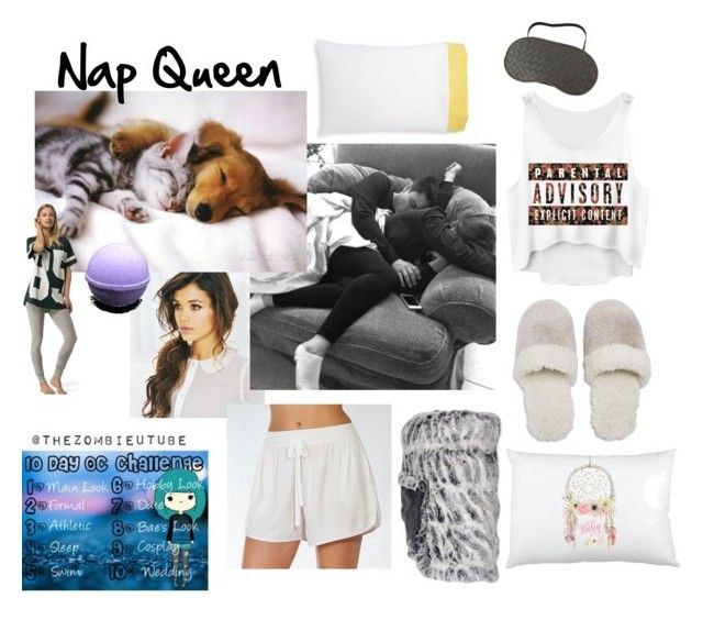 """""""Day 4-sleep"""" by soccerbabe9 ❤ liked on Polyvore featuring Lily & Carter London, Natori, Tommy Hilfiger, Bottega Veneta and Kate Spade"""