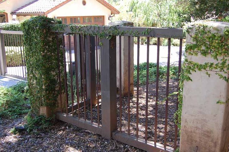 Metal And Wood Fences