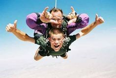 Skydiving tips for first timers... It's a funny read if you've already been skydiving too!