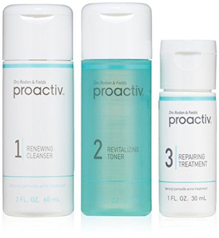Proactiv Kit 3 Step Acne Treatment Cleanser Toner Repairing Skin Care (30 Day) #Proactiv