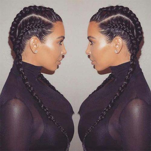 Celebrity Boxer Braids Hairstyles – #boxer #boxerb…