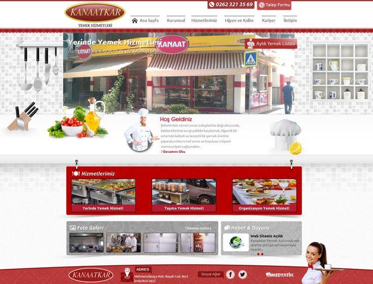 catering yemek web site tasarım