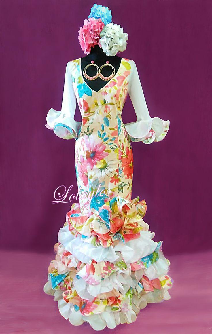 1223 best hola flamenca images on Pinterest | Bata de cola, Dress ...