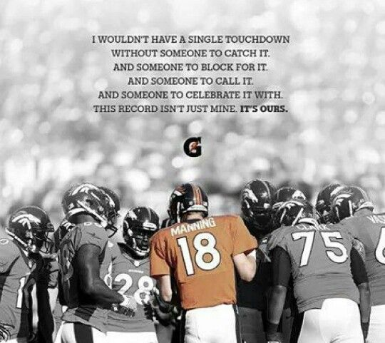 This is why Peyton manning is the best