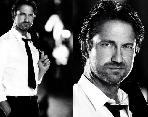 Connor.... All dressed up for the wedding. #Hot #Cosmo #romance #GerardButler