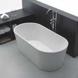 Celeste Venedig er et badekar i moderne design, i 170 cm lengde. Badekaret leveres med skjulte justerbare ben i aluminium og push-up bunnventil. Badekaret i hvit akryl har høy slitestyrke med en blank overflate som gjør det hygienisk. Justerbare føtter på stålramme er skjult under badekaret og gjør at det tåler stor belastning, samt gir mulighet for tilpasning ved fall på badegulvet. Badekaret har en helstøpt overflate, nett design og oval utforming med myke linjer.  Celeste Venedig er…