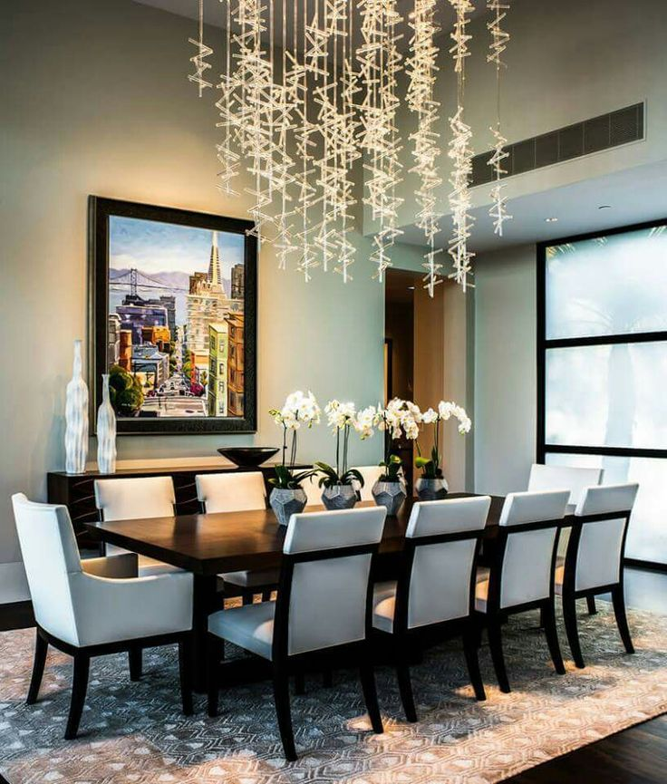 848 best home design interior decor images on pinterest for Dining room decor modern