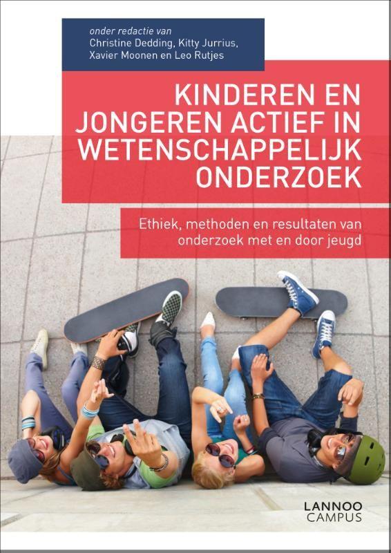 Kinderen en jongeren actief in wetenschappelijk onderzoek  Het handboek jeugdparticipatie in wetenschappelijk onderzoek. Dit boek beschrijft hoe participatief onderzoek met kinderen en jongeren op een wetenschappelijke en ethisch verantwoorde wijze uitgevoerd kan worden. Er worden vragen beantwoord als: - hoe richt je een onderzoeksproces zo in dat de stem van kinderen en jongeren echt boven tafel komt? - wat is ethisch verantwoord onderzoek met kinderen en jongeren? - hoe betrekken we…