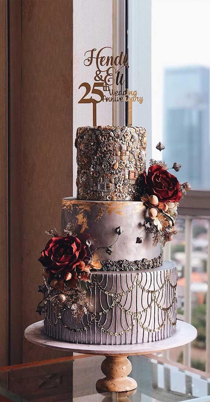 79 Hochzeitstorten, die wirklich hübsch sind!   – Tort de nuntă