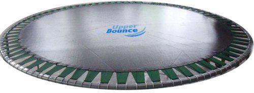 """28% Off Super Saving Sale"" Upper Bounce 13 FT. Trampoline Band Jumping Mat fits for 13 FT. Round Flat Tube Frames (Clips Not included) by Upper Bounce. $85.08. UV-resistant, Water & Fade Resistant Mat. Trampoline Frame size: Made for a 13 FT. Round Band Trampoline (for your trampoline size: measure frame from one outside edge vertically and horizontally to the other outside edge, make sure to measure it both ways to confirm your size). Material: Heavy Duty Premium Polyp..."