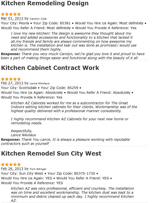 Thereu0027s nothing shill about our customer reviews, read what they - home remodeling contract