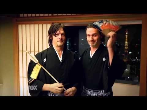 【ウォーキング・デッド】アンドリューとノーマンが和服で・・・ - YouTube                                                                                                                                                                                 もっと見る