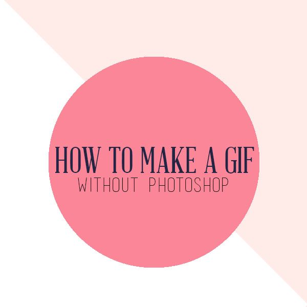 Making an animated GIF is an easy way to add some uniqueness to your blog. You don't need any fancy software to accomplish this.