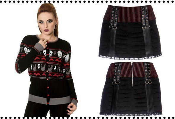 Outfit gótico casual para ir a clase #goth #gothicgirl #moda #gothicfashion