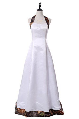 Angel Bride 2015 White Camo Wedding Dress Backless Camo Bridesmaid Dresses- US Size 14 Angel Bride http://www.amazon.com/dp/B00TLO3R6U/ref=cm_sw_r_pi_dp_mo0Hwb04HWHCY