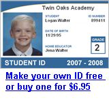 Free homeschool id card template as well as links to free for Homeschool id template