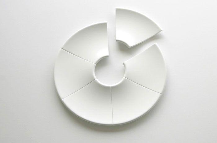 Serving platter which was created by award winning Australian industrial designer, Matthew Sheargold.