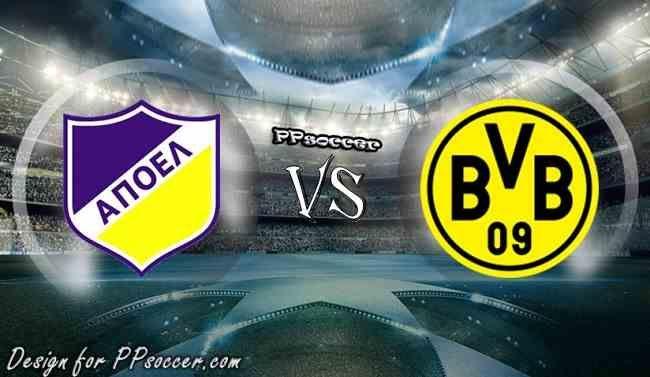 APOEL Nicosia vs Borussia Dortmund Predictions 17.11.2017 - soccer predictions, preview, H2H, ODDS, predictions correct score of UEFA Champion League