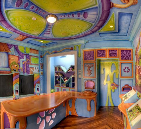 7 cool playrooms awesome for and willy wonka