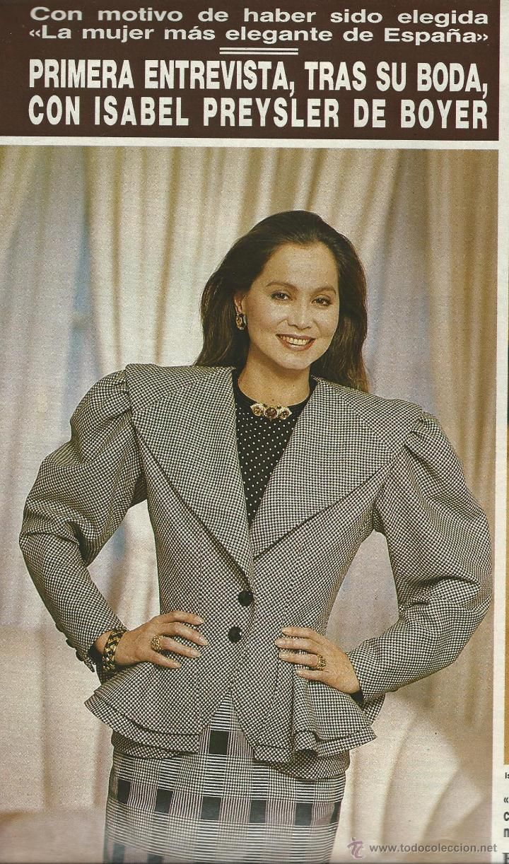 373 best ISABEL PREYSLER images on Pinterest  Party dresses Red carpet and Advanced style