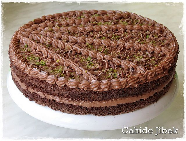 Çikolatalı Pasta Kreması