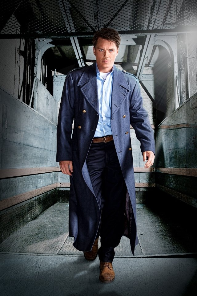 John Barrowman as Captain Jack Harkness. (Torchwood and Doctor Who)