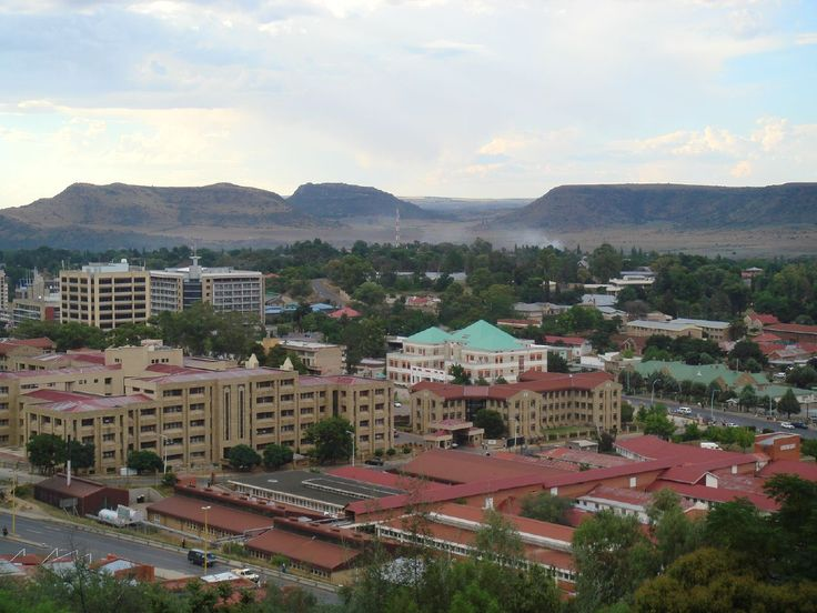 #Lesotho government complex in the capital #Maseru