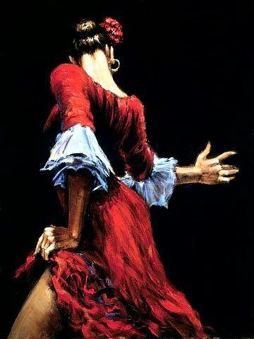 Espalda flamenca