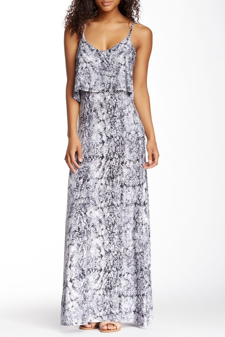 Python Print Popover Maxi Dress by Seven7 on @nordstrom_rack