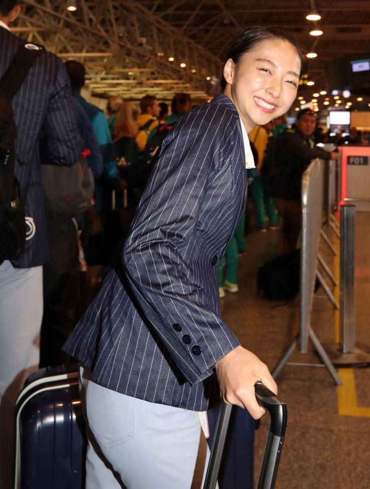 新体操の畠山、レスリング吉田ら帰国へ/写真特集 #リオ五輪 #オリンピック