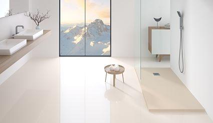 Platos de ducha para baños modernos