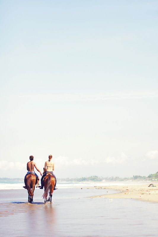 Beautiful beach, Seminyak, Bali: