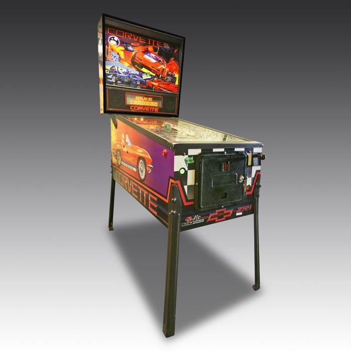 Corvette Pinball Machine | The Games Room Company