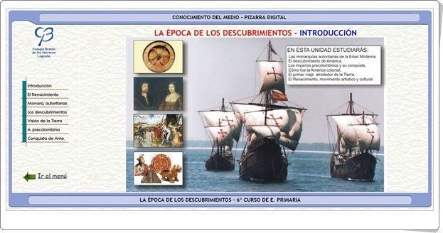 La época de los Descubrimientos (Clarionweb.es)