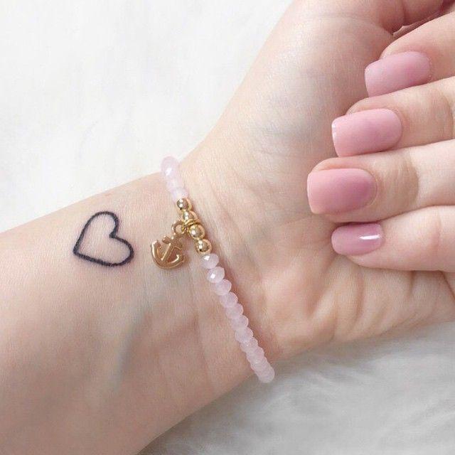 #tattoo #tattoos #hearttattoo #littletattoos ❤️